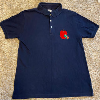 Design Tshirts Store graniph - graniph はらぺこあおむし ポロシャツ 紺