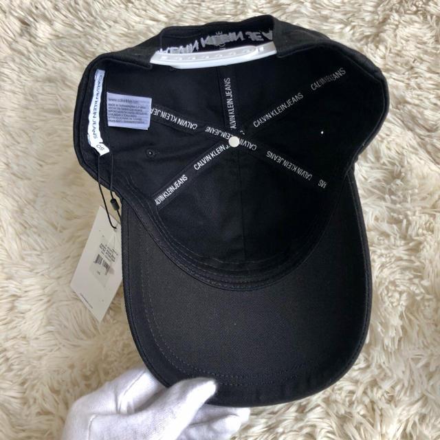 Calvin Klein(カルバンクライン)の新品 カルバンクライン CALVIN KLEIN 新作 ロゴキャップ レディースの帽子(キャップ)の商品写真