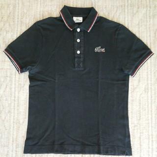 LACOSTE - ラコステ LACOSTE ポロシャツ 半袖 ネイビー 紺 レディース サイズ 2