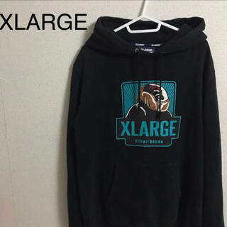 XLARGE - XLARGE エクストララージ ビックロゴ パーカー