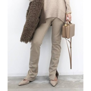 L'Appartement DEUXIEME CLASSE - L'Appartement  Wool Zip Leggings