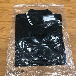 プラダ(PRADA)の新品 PRADA 未開封 ポロシャツ サイズM ブラック(ポロシャツ)