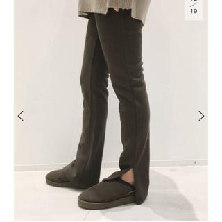 L'Appartement DEUXIEME CLASSE - 新品  L'Appartement Wool Zip Leggings
