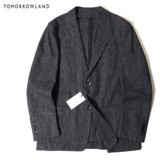 トゥモローランド(TOMORROWLAND)の新品 TOMORROWLAND 高品質 異素材ミックス テーラード ジャケット(テーラードジャケット)
