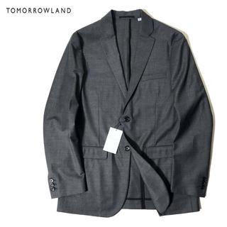 トゥモローランド(TOMORROWLAND)の新品 TOMORROWLAND 上質 ストレッチ ウール テーラード ジャケット(テーラードジャケット)