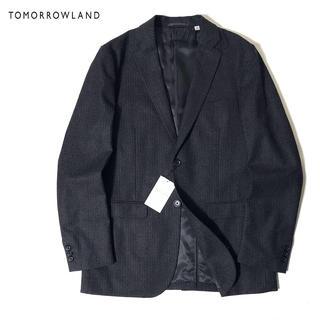 トゥモローランド(TOMORROWLAND)の新品 TOMORROWLAND ストレッチ フランネル テーラード ジャケット(テーラードジャケット)