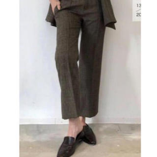 L'Appartement DEUXIEME CLASSE - 新品タグ付 アパルトモン Polyestel Cropped Pants◆