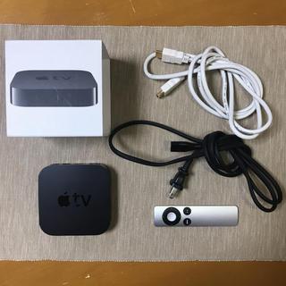 Apple - アップルTV APPLE TV MC572J/A HDMIケーブル(2m)付き☆