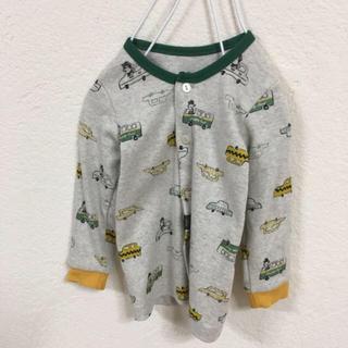 コドモビームス(こどもビームス)の新品*韓国こども服 かわいい柄ボタンつきスウェット(トレーナー)
