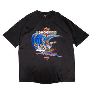 ハーレーダビッドソン(Harley Davidson)の《プリントT》希少 90s ハーレーダビッドソン Tシャツ フロリダ USA製(Tシャツ/カットソー(半袖/袖なし))