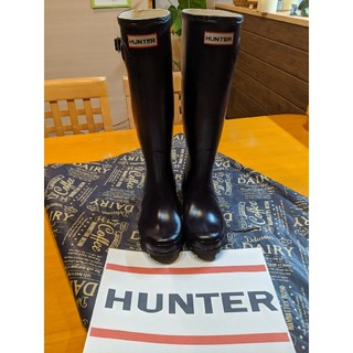 HUNTER - 美品 HUNTER ハンター レインブーツ 長靴