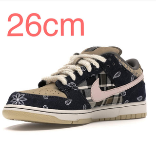NIKE - Nike sb dunk low travis scott 26cm