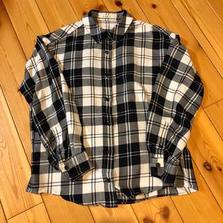 ロートレアモン(LAUTREAMONT)のとろみチェックシャツ(シャツ/ブラウス(長袖/七分))