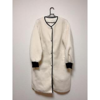 GU - GU ボアロングジャケット