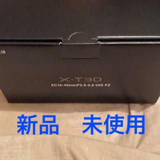 富士フイルム - FUJIFILM X-T30 15-45mm レンズキット ミラーレス ブラック