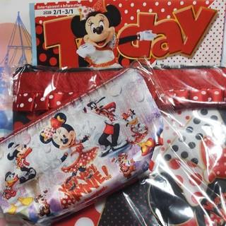 Disney - ☆ベリーベリーミニー☆スーベニアランチケース&ポーチ