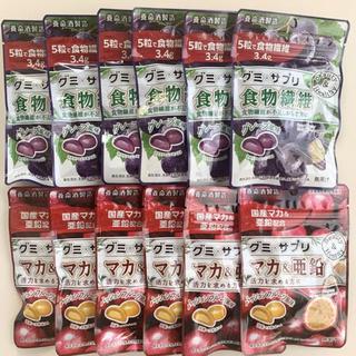 養命酒製造 グミサプリ マカ&亜鉛/食物繊維【12袋】