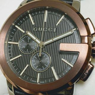 Gucci - ◆激レア!〔グッチ Gクロノ〕 新作 新品未使用品 メンズ 腕時計 クロノグラフ