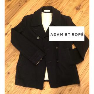 アダムエロぺ(Adam et Rope')の着画有り✨人気アパレル✨アダムエロペ お洒落なPコート(ピーコート)