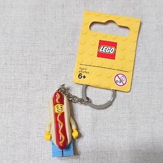 レゴ(Lego)のレゴ キーチェーン ホットドッグ(キーホルダー)