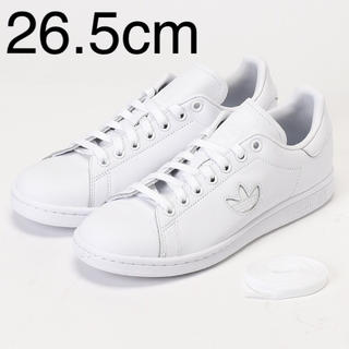 adidas - adidas originals スタンスミス ホワイト ロゴ 26.5