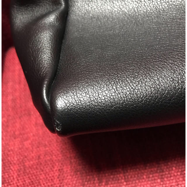 nano・universe(ナノユニバース)のシュリンクフェイクレザーボストンバッグ★黒★Legato Largo レディースのバッグ(ショルダーバッグ)の商品写真