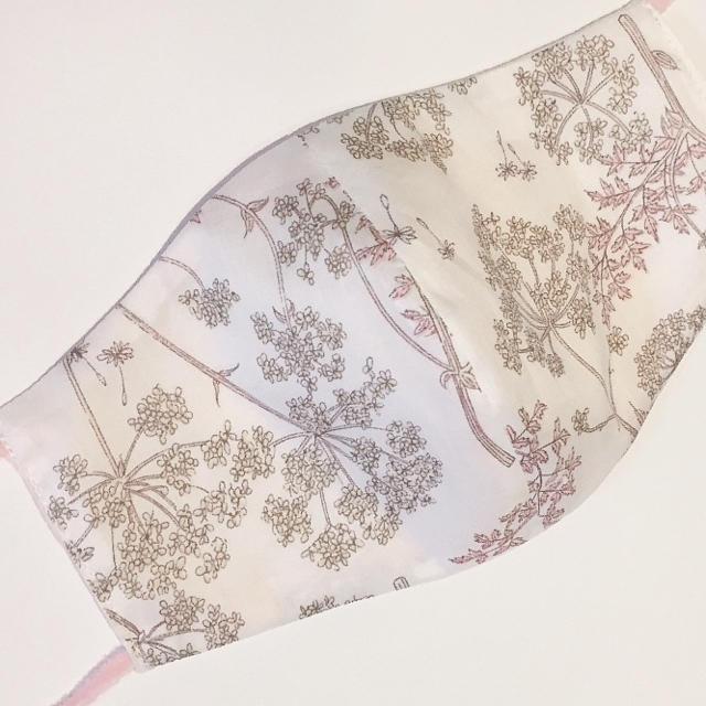 マスク 美容 / リバティ♡ダブルガーゼ 布マスク リバーシブルの通販