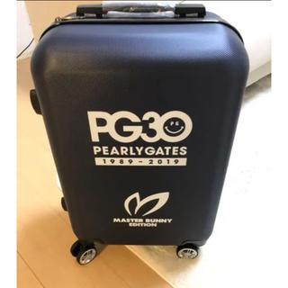 PEARLY GATES - 新品 非売品 パーリーゲイツ マスターバニー キャリーケース PG30周年記念