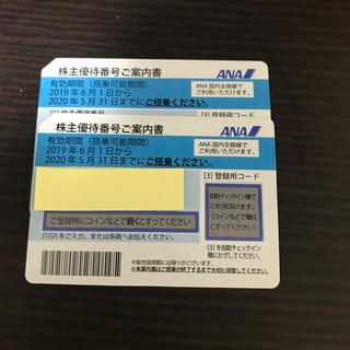 ANA株主優待券 2枚セット
