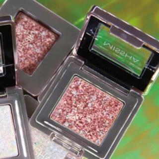 ミシャ(MISSHA)のミシャ グリッタープリズムシャドウ イオン限定カラー GRD01 新品未使用(アイシャドウ)