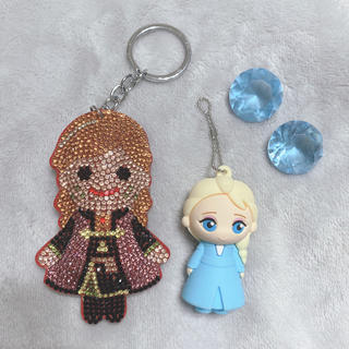 アナトユキノジョオウ(アナと雪の女王)のアナと雪の女王 ストラップ(キャラクターグッズ)