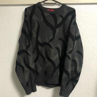 Supreme - supreme tribal camo sweater