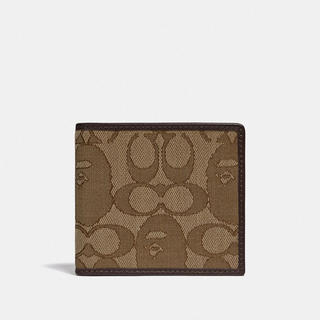 A BATHING APE - Bape × COACH 折り畳み財布