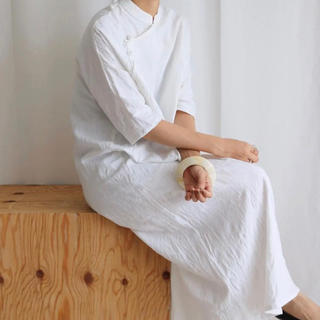 TODAYFUL - aéré / aereアエレ cotton Jacquard dress 美品