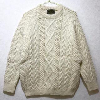 インバーアラン(INVERALLAN)の70年代 CallanKnitwear フィッシャーマンズニット アイルランド製(ニット/セーター)