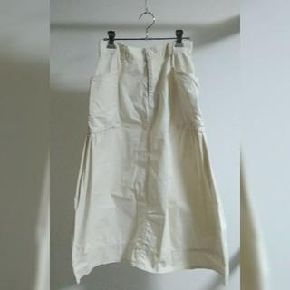 キューブシュガー(CUBE SUGAR)のCUBE SUGAR ギャザースカート(ロングスカート)