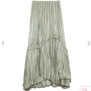 snidel - 完売色🌷新作新品🍀スナイデル シャイニープリーツスカート