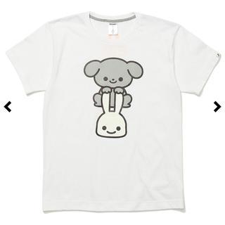 キューン(CUNE)のCUNE いぬ 犬 Tシャツ 白 ホワイト わんわん 完売品(Tシャツ/カットソー(半袖/袖なし))