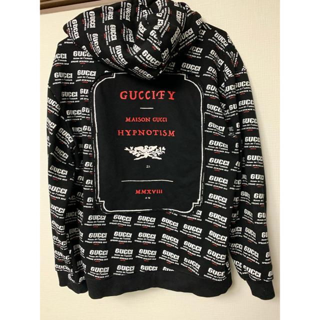 Gucci(グッチ)のGUCCI スウェット パーカー 長袖 男女兼用  メンズのトップス(パーカー)の商品写真