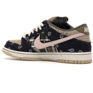 NIKE - TRAVIS SCOTT×NIKE DUNK LOW PRM QS 27.0cm