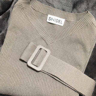 snidel - SNIDEL  スナイデル セットアップ ニット ワンピース