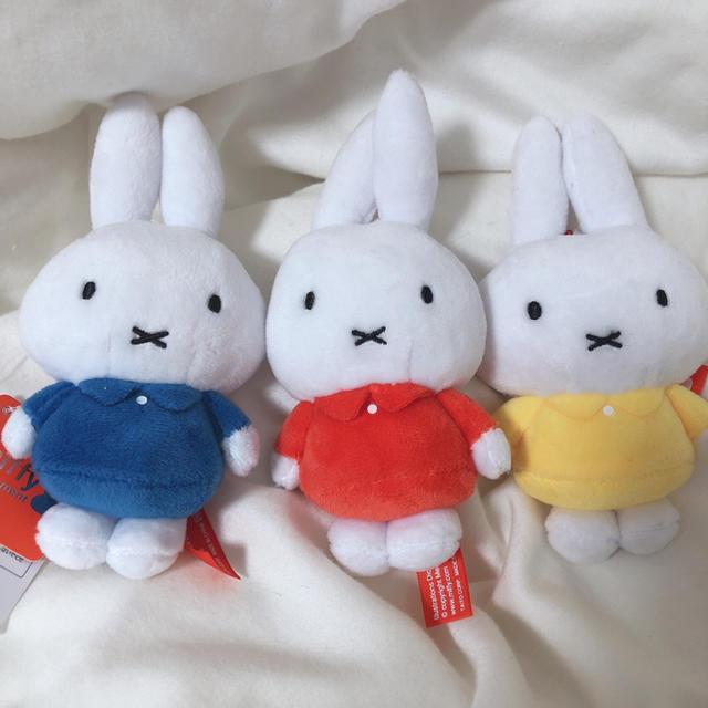 ミッフィー ぬいぐるみ セット キッズ/ベビー/マタニティのおもちゃ(ぬいぐるみ/人形)の商品写真