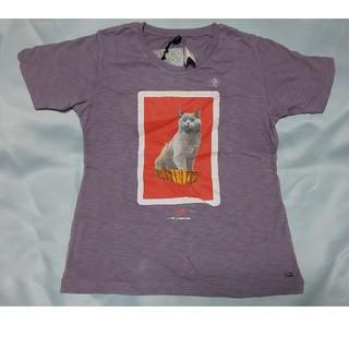 アンダーカバー(UNDERCOVER)のuuアンダーカバー140キッズTシャツパープル(Tシャツ/カットソー)