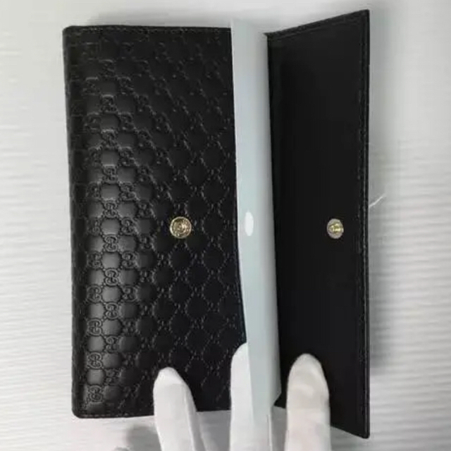 Gucci(グッチ)の国内未入荷✳︎新品 GUCCI グッチ マイクロGG シマ 長財布 レディースのファッション小物(財布)の商品写真