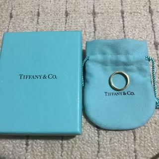 Tiffany & Co. - 最終値下げ!Tiffany ノーツリング k18 750 11号 男女兼用