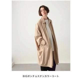 HARE - HARE BIGポンチョステンカラーコート