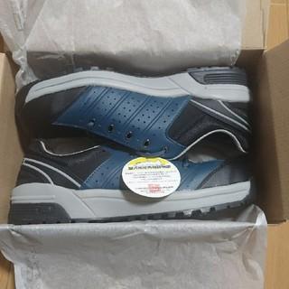 ミドリ安全 - ミドリ安全 安全靴 27.0cm(EEE) ネイビー
