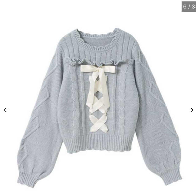 夢展望(ユメテンボウ)の夢展望ニット♡ レディースのトップス(ニット/セーター)の商品写真