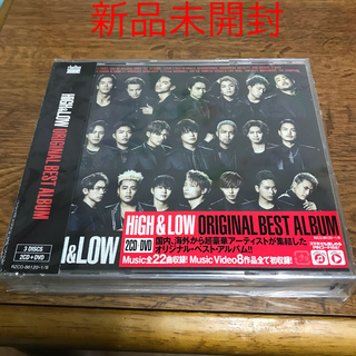 HiGH & LOW ORIGINAL BEST ALBUM(DVD付)(ポップス/ロック(邦楽))