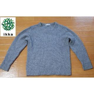 イッカ(ikka)のお得‼︎【ikka】メンズ イッカ ニット セーター クルーネック(ニット/セーター)